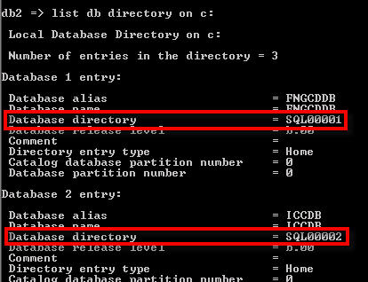 Relocating a DB2 database – db2relocatedb | James Allen